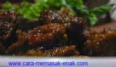 resep praktis dan mudah membuat (memasak) masakan rica-rica enthok / menthok spesial enak, gurih, lezat
