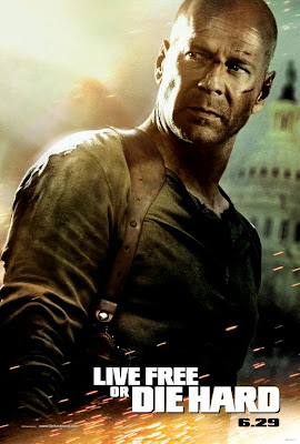 Watch Live Free or Die Hard 2007 BRRip Hollywood Movie Online | Live Free or Die Hard 2007 Hollywood Movie Poster