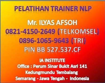 Sertifikasi Trainer NLP