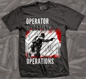 Operator Operating in Operations firearm shirt