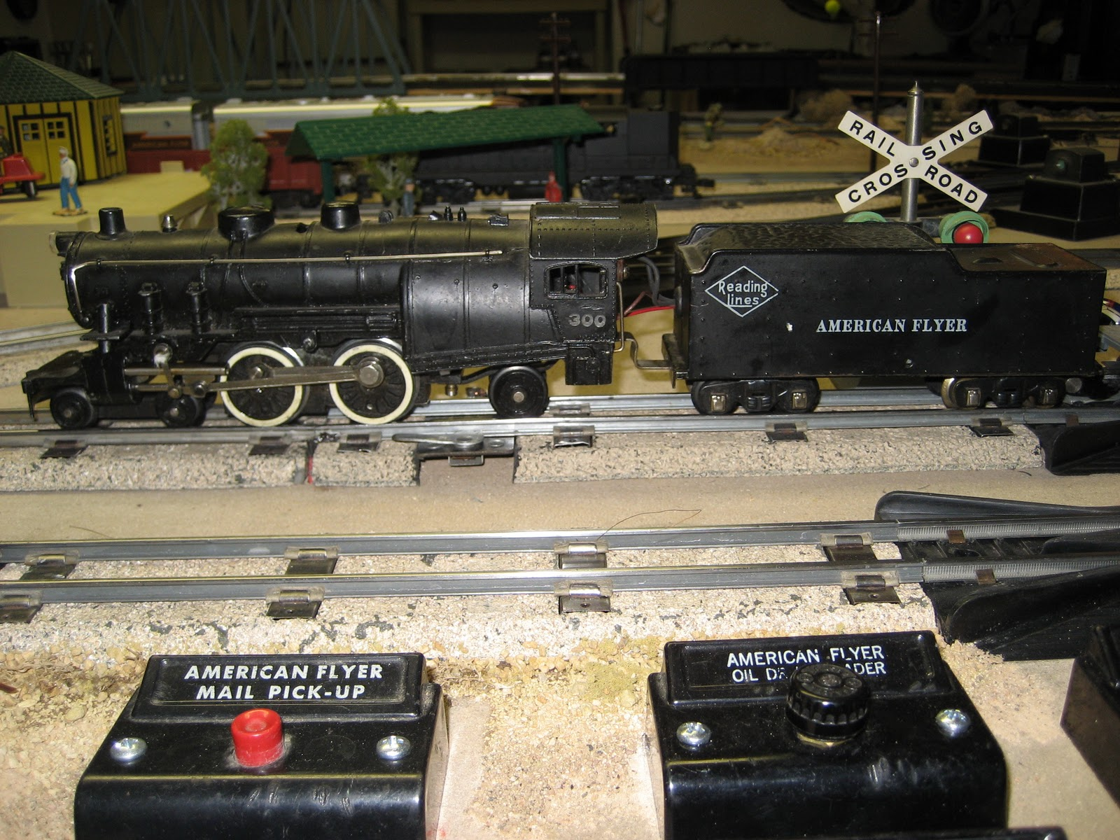 american flyer cabinet top train layout my first dc can motor conversion on a f 4 4 2 300 steam engine