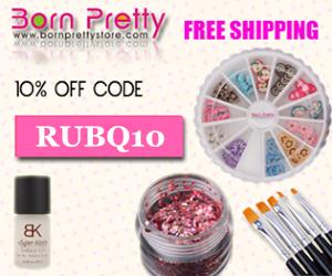 Скидка 10% на покупки в bornprettystore по коду RUBQ10