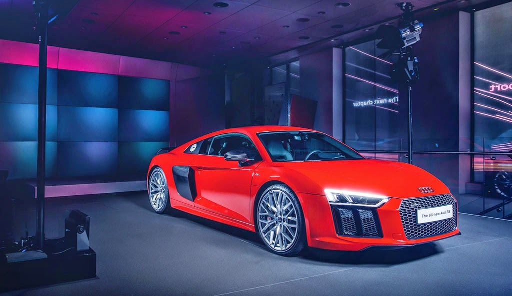 AllNew Audi R Gathers Momentum En Route To The UK Motor Heads - Momentum audi