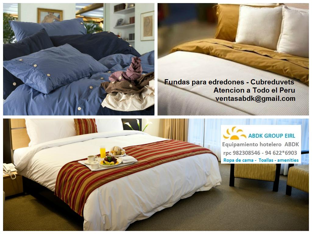Abdk Hoteleria Peru Confeccion De Fundas Para Edredones Fundas