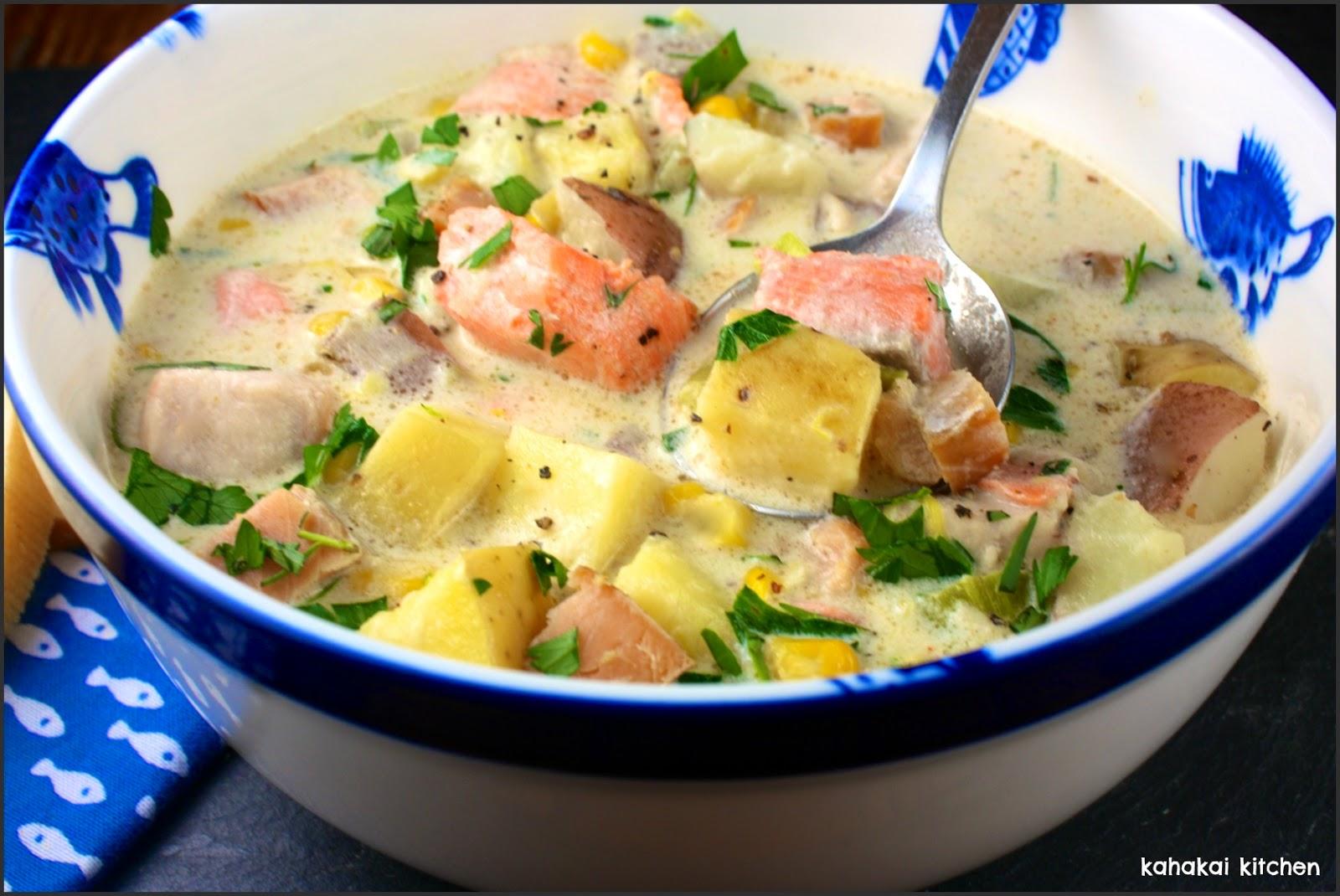 Quick fish chowder for Fish chowder recipe