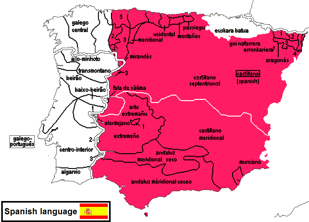 Http Indo Europeanlanguages Blogspot Com 2012 10 Spanish Language And Dialects Html