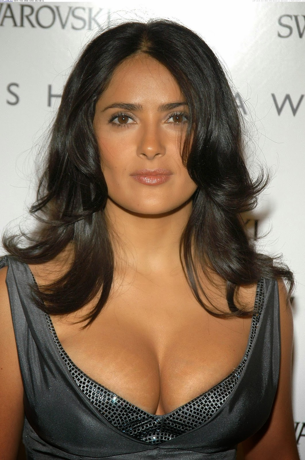 Actress salma hayek hot and spicy cleavages show stills for Very best images
