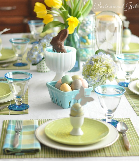 Sunday brunch 12 spring easter table settings mythirtyspot - Deco de table de paques ...