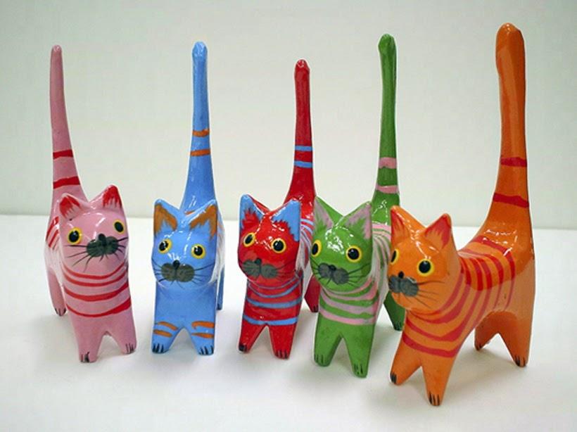 Сувениры кошки на Крите