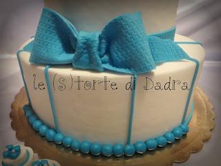 (s)torta e (s)tortine per il battesimo di andrea...