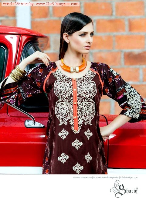 Shariq Launched Mid-Summer Rabea Kurti Dresses