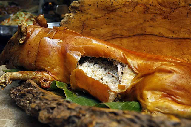 Pepita's Kitchen Truffle Stuffed Lechon