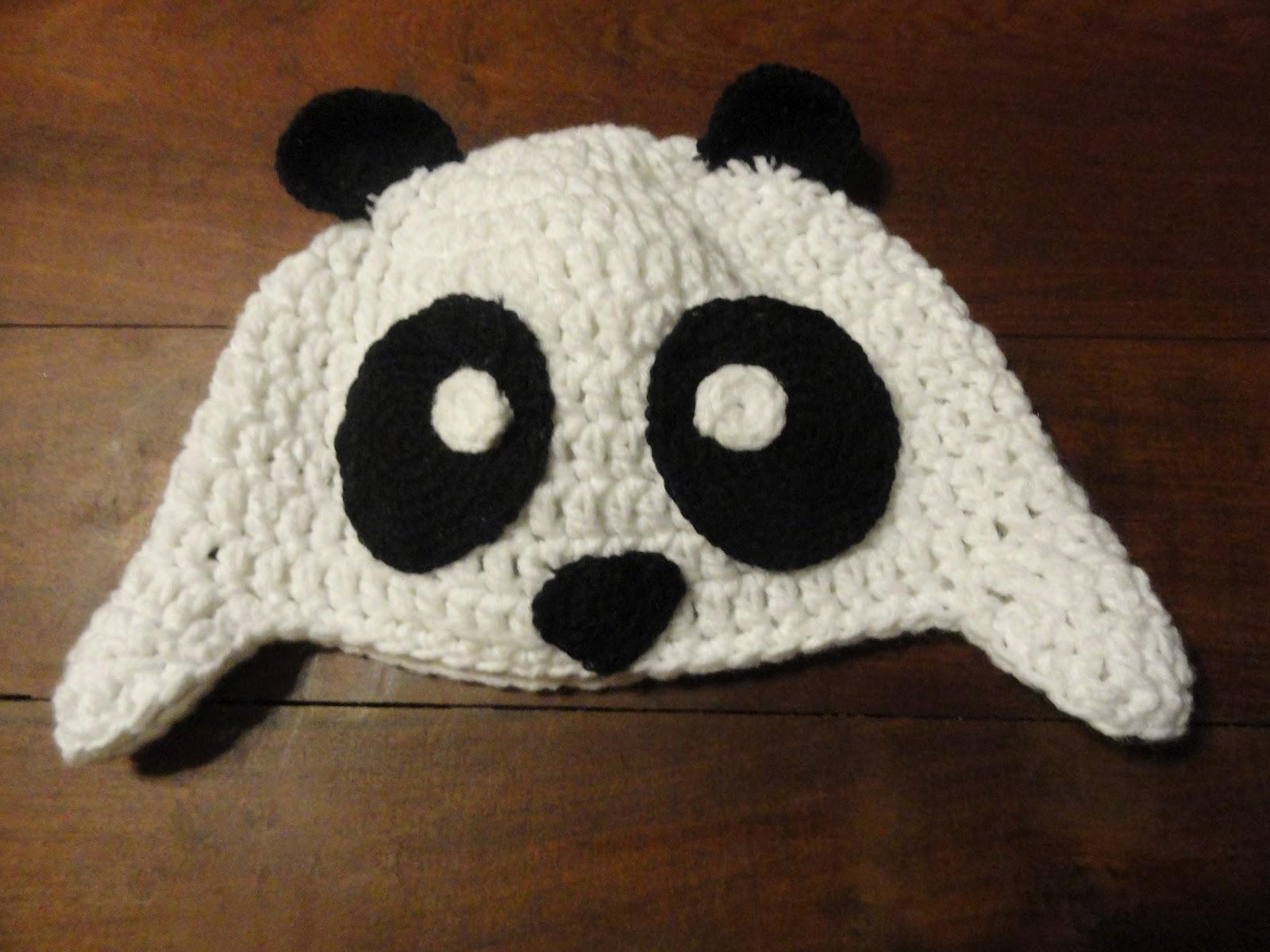 Crochet, mi vicio: Gorro oso panda