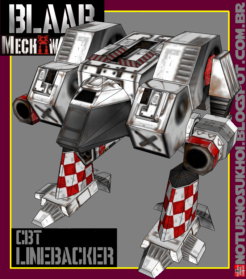 Classic BattleTech Papercraft