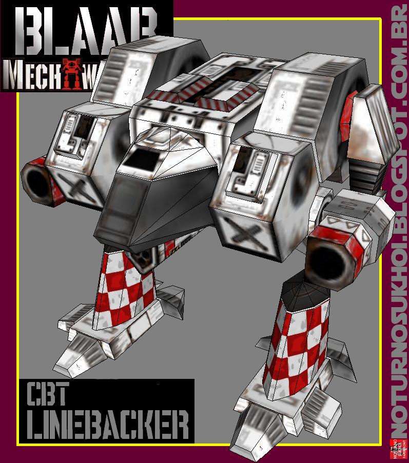 Classic BattleTech Papercraft