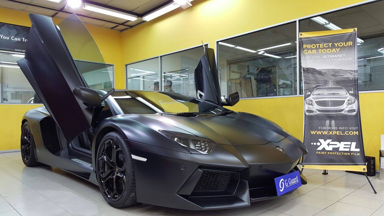 G guard malaysia turn your car 39 s glossy appearance into for Matte paint car