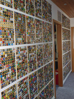how to make a bottle cap floor