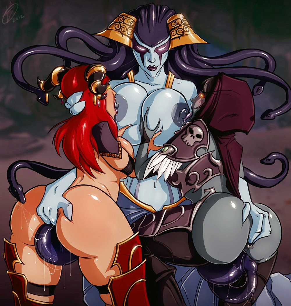 Hentai world of warcraft girls big tits  pornos scenes