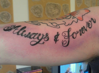Problems with Lettering Tattoos