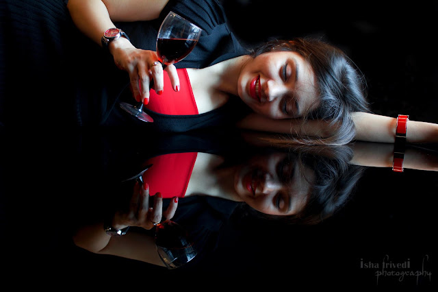 "Isha Trivedi Photography Sensuous RED ""Isha Trivedi"""