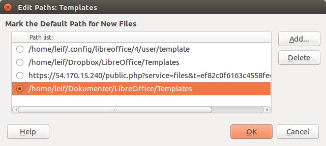 libreoffice database templates