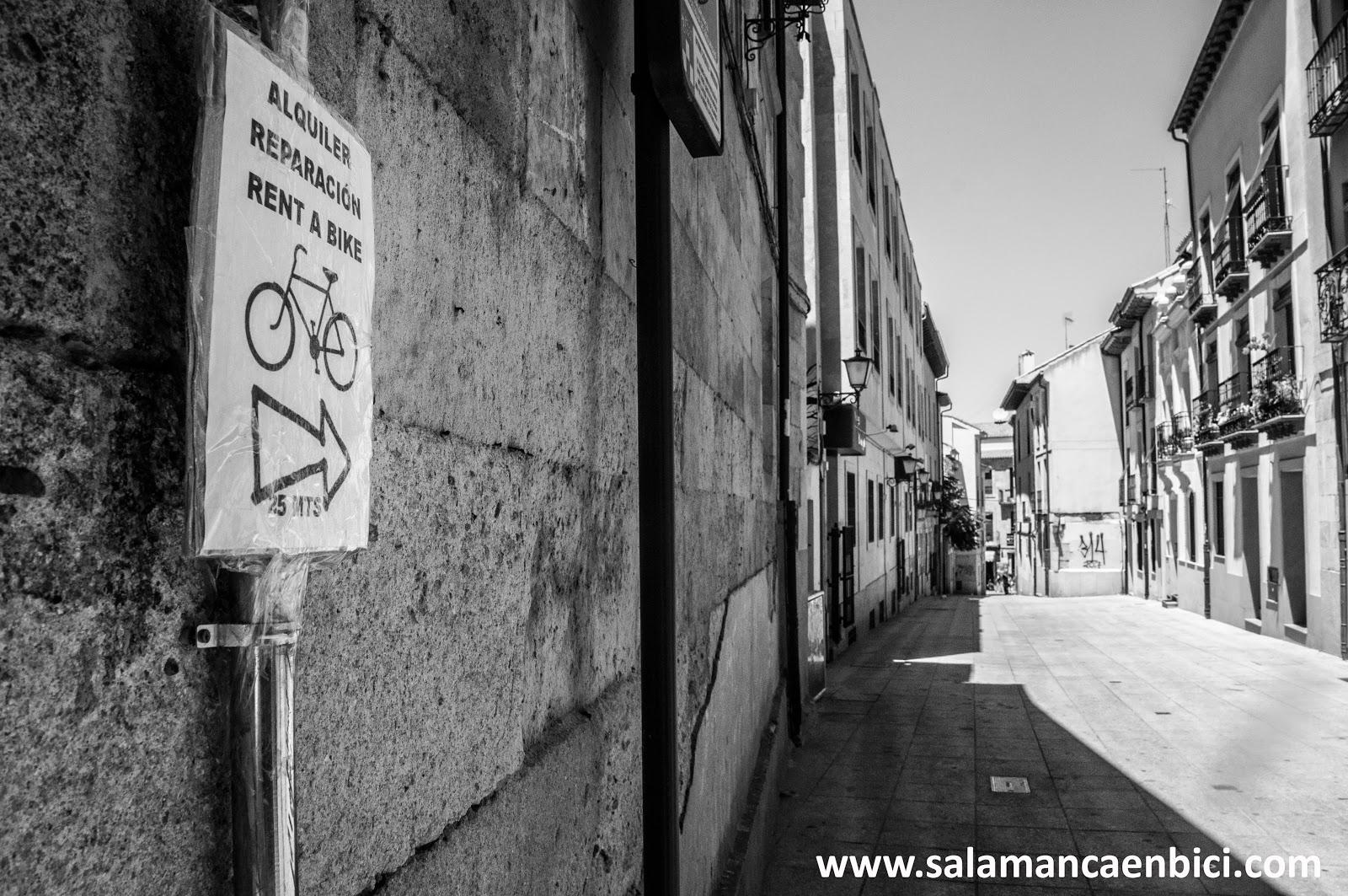 bikecicletas alquiler de bicicletas carril bici salamanca