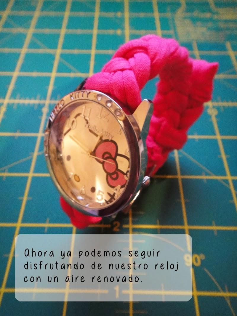 DIY- Correa de reloj - Resultado final 3