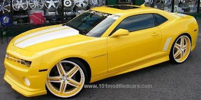 carro camaro amarelo
