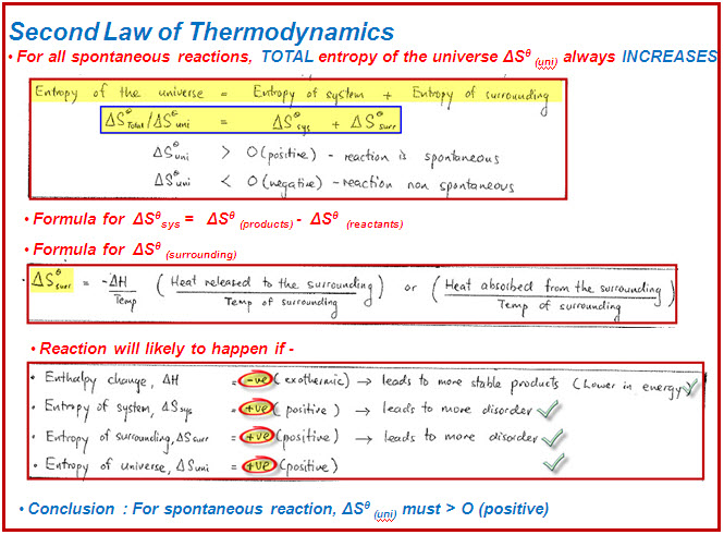 thermodynamics entropy The law of entropy, or the second law of thermodynamics, along with the first law of thermodynamics comprise the most fundamental laws of physics entropy (the subject of the second law) and energy (the subject of the first law) and there relationship are fundamental to an understanding not just of physics, but of biology, psychology, and culture.