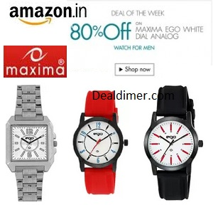 Maxima Watches 80% off