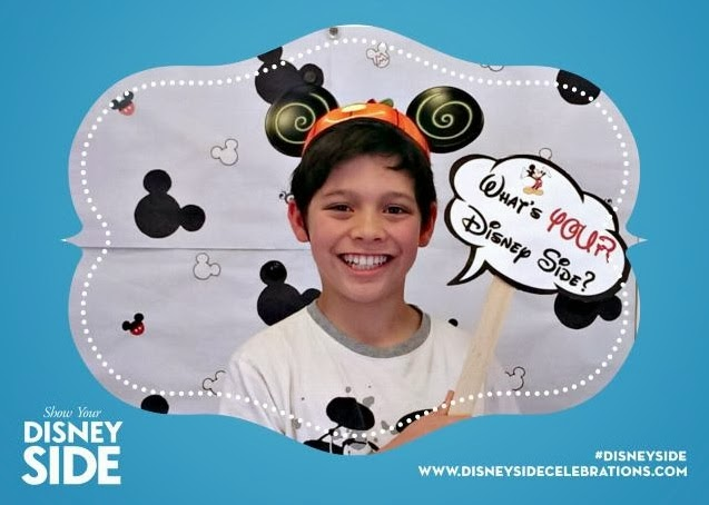 Show your  Disney Side at your very own #DisneySide @Home celebration
