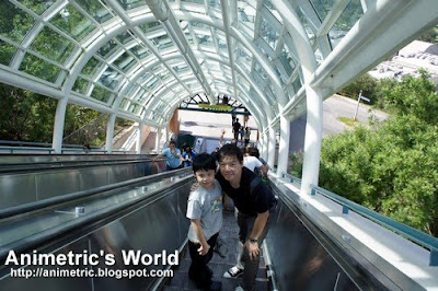Escalator at Universal Studios Hollywood