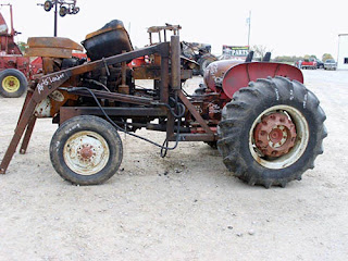 used international 240 tractor parts