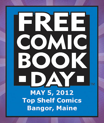 Free_Comic_Book_Day,Top_Shelf_Comics,Bangor,Downtown