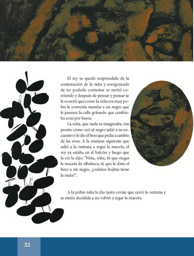 La maceta de albahaca - Español Lecturas 5to 2014-2015
