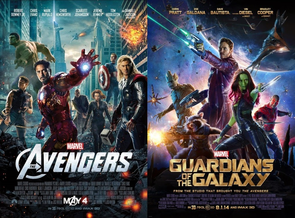 Octobersky: Movie Battle: The Avengers Vs. Guardians of the Galaxy