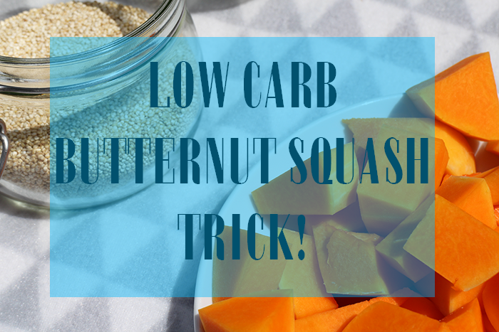 LOW CARB BUTTERNUT SQUASH TRICK!