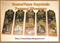 MamaTisya Keychain Penang Giveaway