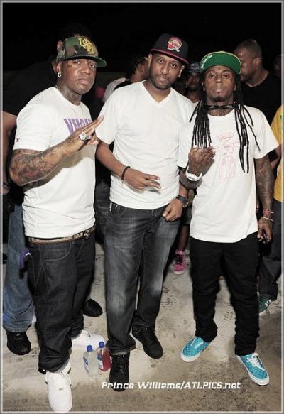 Foto do Lil Wayne & Birdman