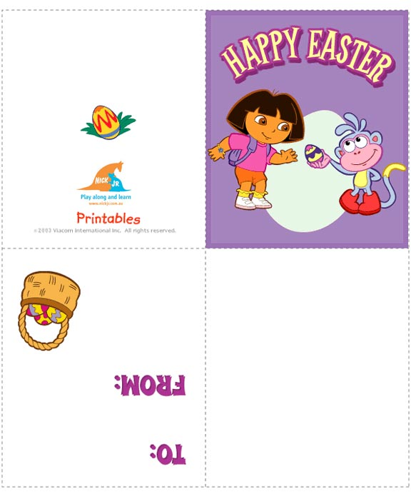 Make your Own Easter Cards Free Printable Cards Lets Celebrate – Make Your Own Easter Cards