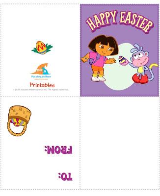 Free Printable Easter Cards Kids