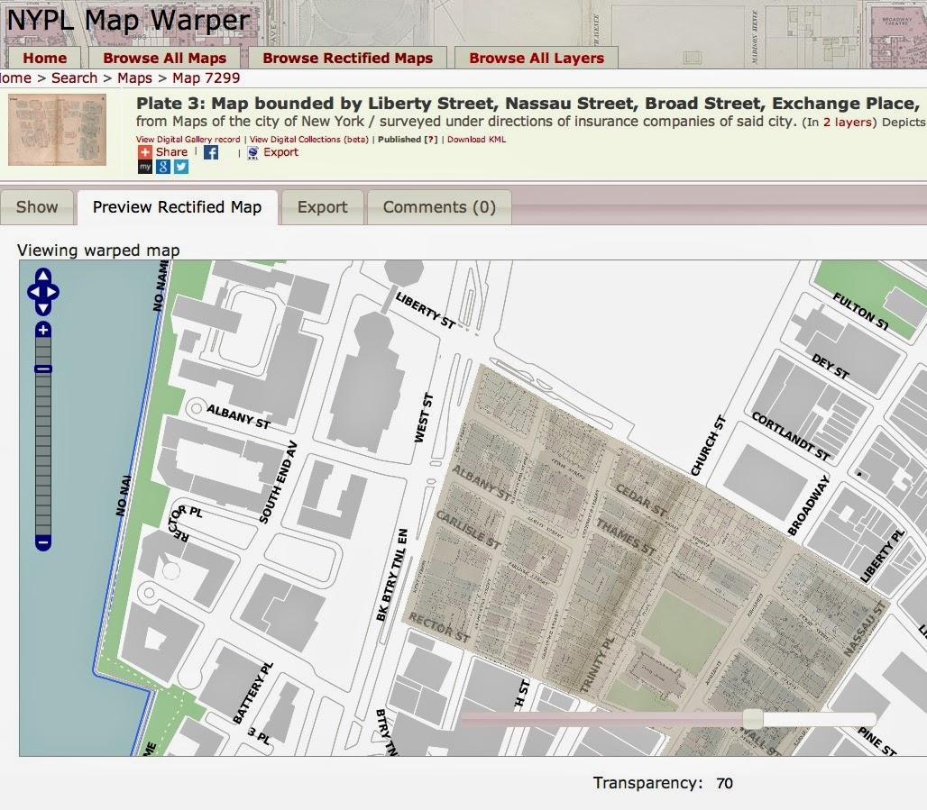 TheAncestorFiles New Map Resource New York Public
