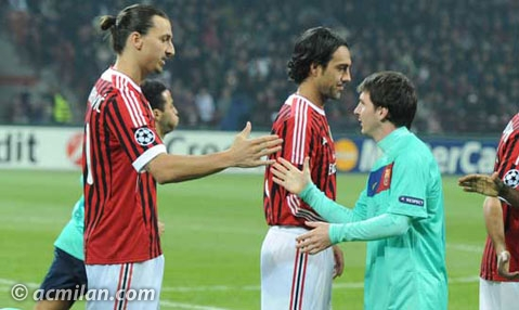 Messi e Ibra