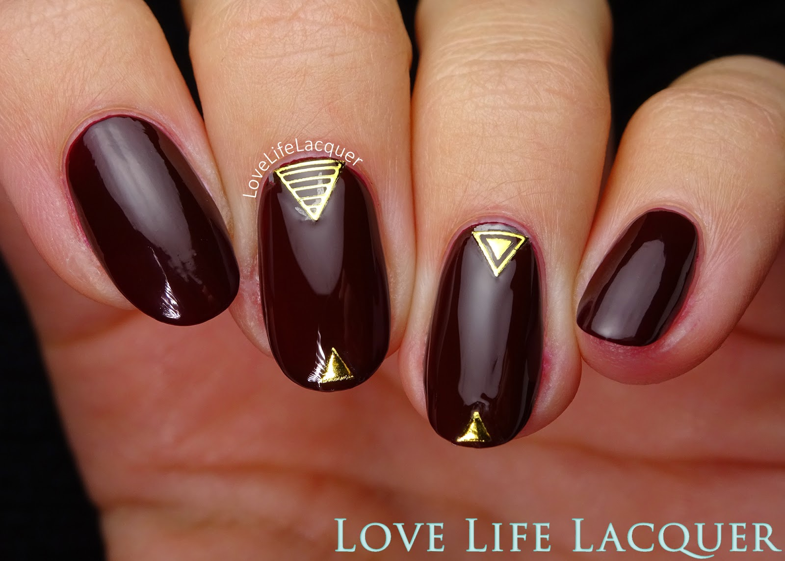 Love life lacquer pronails new icon gold sticker nail art pro nails new icon swatch nail art prinsesfo Images