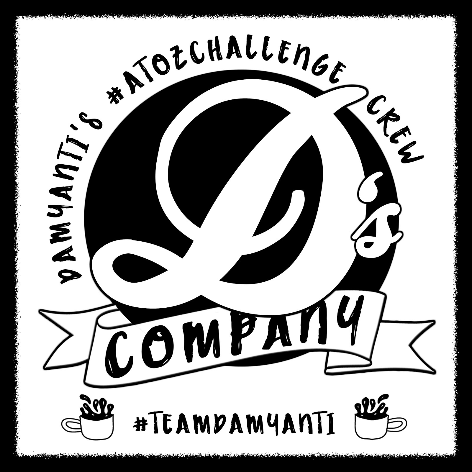 Proud member: Damyanti's #AtoZChallenge Team