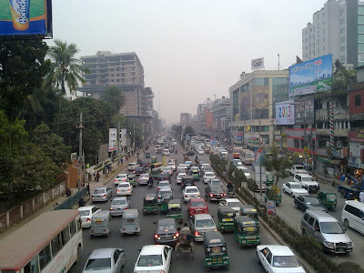 Traffic Jam Mirpur Road Dhaka