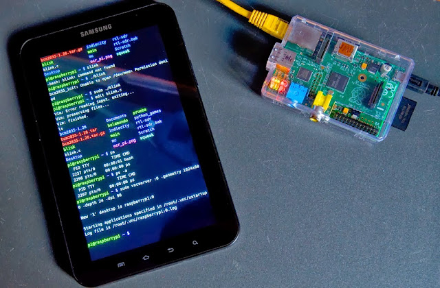 Consola Raspberry Pi en Android