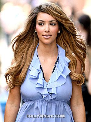 Kim Kardashian new blonde hair - (3) - kim kardashian Bigg Boss 6 Contestant Pics