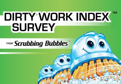 Scrubbing Bubbles Dirty Work Index survey
