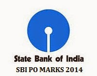 SBI PO RESULT 2014, SBI PO MARKS OBTAINED BY CANDIDATES